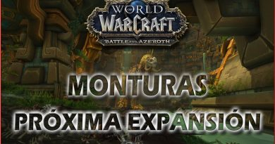 monturas de battle for azeroth