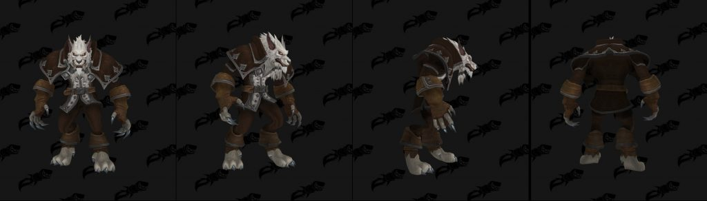 Greymane in Worgen Form