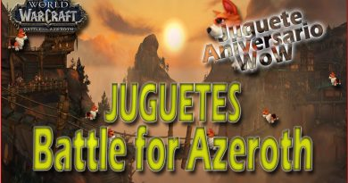 Juguetes Battle for Azeroth
