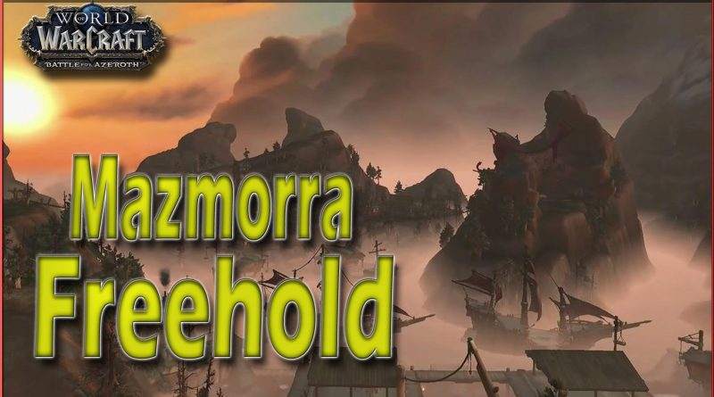 Freehold Mazmorra Battle for Azeroth