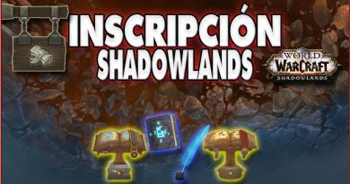 Inscripción en Shadowlands